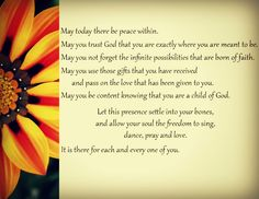 I've loved St. Theresa's prayer for a long time. and this one I made myself!