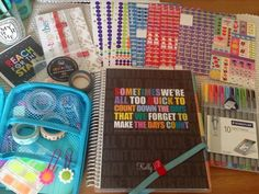 wow! quite the collection of goodies! #eclifeplanner