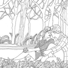 409 Best Coloring People Images On Pinterest Coloring Book
