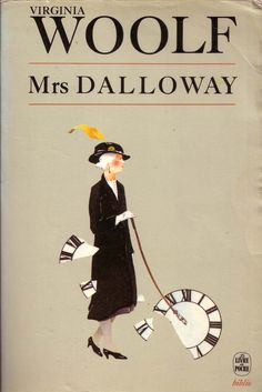 Mrs Dalloway - Virginia Woolf  I wish I had a copy with this cover. Anyways, it's a great book!