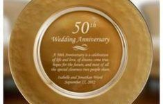 Image result for unique 50th wedding anniversary gifts