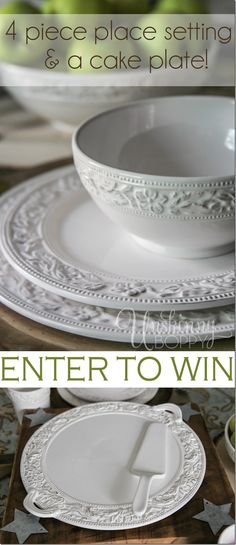 Would love to win new dishes :) from Pfaltzgraff