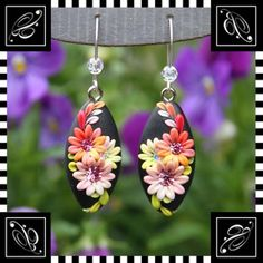 *POLYMER CLAY ~ Earrings| Flickr - Photo Sharing!