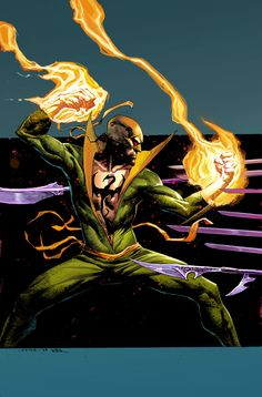 Iron Fist #3 variant cover by Jerome Opena