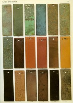 Bronze 1 - Custom Metal Finishes and Patinas Patina Metal, Bronze Patina, Colour Pallette, Colour Schemes, Textures Patterns, Fabric Patterns, Sculpture Head, Sculptures, Patina Color