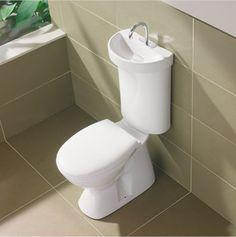 Toilet met geintegreerde wasbak