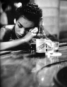Bar girl in a brothel in the red light district, Havana, Cuba, 1954 © Eve Arnold