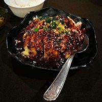 Frango sichuan, hot hot hot -  ChuanYue Restaurants, Pork, Meat, Kale Stir Fry, Restaurant, Pork Chops