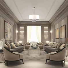 There are many elegant living room ideas that you might decide to get applied in your living room design. Because you have landed here then most probably you want Elegant living room answer. Classic Decor, Classic Interior, Luxury Interior Design, Country Interior, Luxury Decor, Luxury Lighting, Diy Interior, Apartment Interior, Interior Paint