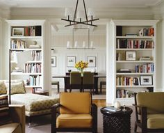 Built-in cabinets + neutral palette + contemporary design by Eve Robinson