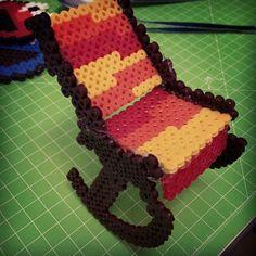 Rocking chair perler beads by ayckrtn