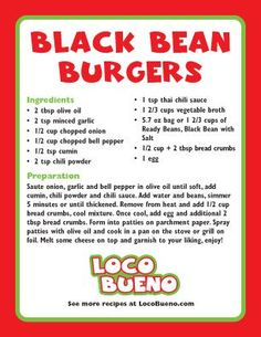 Recipes | Loco Bueno, LLC