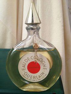 Vintage Eau de Cologne Shalimar by Guerlain Paris 3 oz , Used 80%+ Left #ShalimarbyGuerlainParis