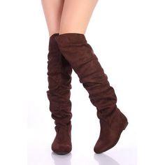 Nature Breeze Vickie-Hi Brown Suede Thigh High Flats Boots, Size: 5.5 (M) US [Apparel] Nature Breeze, http://www.amazon.com/dp/B0091KYQOG/ref=cm_sw_r_pi_dp_lUqyqb1533CE8