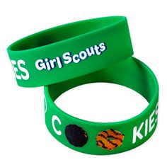 Girl Scout Shop - Cookie Rubber Bracelet