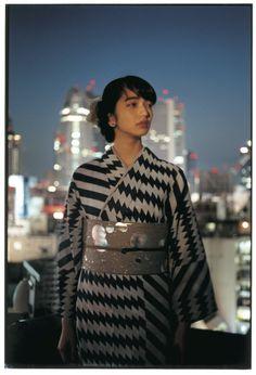 浴衣に新しさを。アンリアレイジ、ミントが「らしい」浴衣を新宿伊勢丹で披露 5枚目の写真・画像