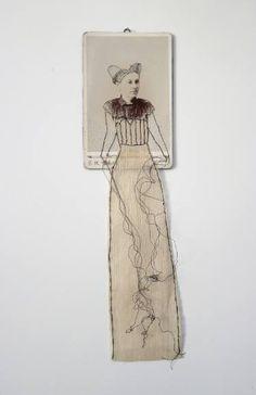 """Saatchi Art Artist Cindy Steiler; Collage, """"Forgotten no. 62"""" #art"""