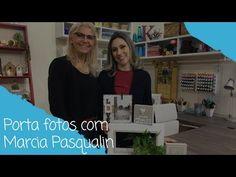 Como fazer um porta fotos com Marcia Pasqualin - 25/07/18 Stencil Decor, Stencils, Arte Pallet, Youtube, Gisele, Arts And Crafts, Diy And Crafts, Wood Paintings, Country Crafts
