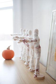 Mini Mummies DIY//