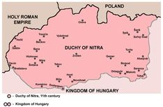 Principality of Nitra Holy Roman Empire, Map, Culture, Cards, Location Map, Maps