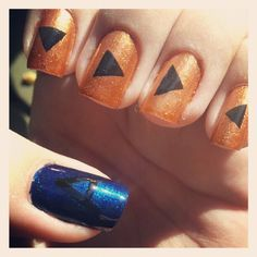 """""""Now listen to the Serenade of Water to reflect upon yourself"""" Zelda Ocarina of Time nails"""