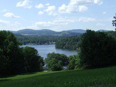 Harvey's Lake. Barnet, Vermont