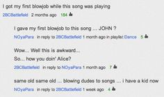 Best Youtube Comment Thread Ever