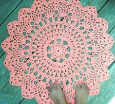 I am also going to get this doily rug OMG I love it so. https://www.etsy.com/listing/98777611/orange-cotton-crochet-doily-rug-in-30