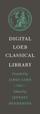 The Digital Loeb Classical Library [logo and text on gray background]