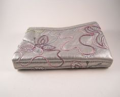 Beautiful Danielle Makeup Wallet Bag by MissPattisAttic on Etsy