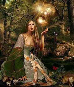 airmid goddess of healing | Airmid – Celtic Goddess of Healing and Herbal Lore