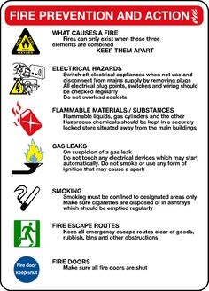 Check out some of these important tips on the fire prevention and action here. #firesafety #firesafetytips
