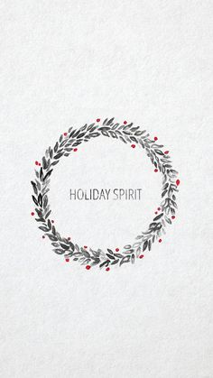 Holiday Spirit ★ Find more Seasonal wallpapers for your #iPhone + #Android @prettywallpaper