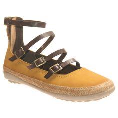 OTBT Women's Flats: Copan in Mustard
