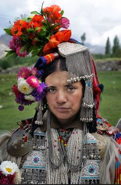 INDIA: Drokpa Woman, Ladakh - India.