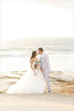 Pink And Teal San Diego Wedding