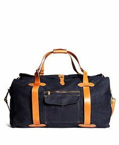 f8da1849cb7e Filson® Denim Duffle Bag - Brooks Brothers Mens Luggage