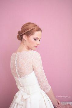 Νίκος και Ναταλία – Γάμος στο Polis Girls Dresses, Flower Girl Dresses, Hair Studio, Wedding Dresses, Hair Styles, Php, Fashion, Dresses Of Girls, Bride Dresses