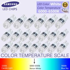 Lights & Lighting Led Bulbs & Tubes Delicious 10x White Cob Festoon Dome Lights Reading Lamp 31mm 36mm 39mm 42mm C5w C10w Car Led Door Lights Backup Bulb Tail Bulbs Dc 12v Fast Color