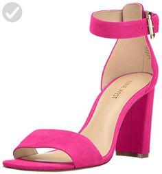 Nine West Women's Nora Suede Dress Sandal, Pink, 6.5 M US - All about women (*Amazon Partner-Link)