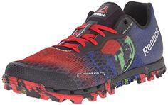 30f1e1bf3f7 Reebok Womens All Terrain Super 20 TRI Women s Trail Running Shoes Shoe  BlackExcellent Red RoyalGreen SmashSilver
