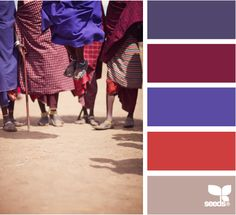 masai color - perfect for our theme room!! lol