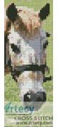 Cleo the Pony Bookmark Counted Cross Stitch Pattern http://www.artecyshop.com/index.php?main_page=product_info&cPath=26&products_id=1191