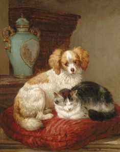 Best of friends | Henriette Ronner-Knip