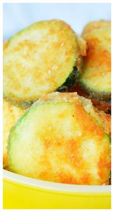 Easy and fast recipes that your entire family will love. Search through seasonal, dessert, appetizers, main dish and hoards of side dishes that your family will LOVE! Fried Zucchini Recipes, Zucchini Side Dishes, Low Carb Side Dishes, Zucchini Fries, Vegetable Side Dishes, Side Dishes Easy, Side Dish Recipes, Veggie Recipes, Snack Recipes