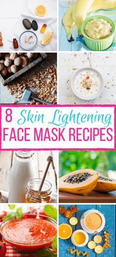 Look no further than your kitchen for safe and effective skin lightening ingredients. Try one of these 8 DIY Skin Lightening Face Mask Recipes to nourish your skin today.