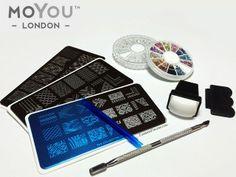Moyou London nail stamping kit!!! WANT!!!