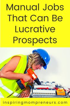 A manual job usually requires physical strength or skill and thus they can provide great careers and top salaries to match. Here are 6 manual jobs that could turn into lucrative careers. #manualjobs #lucrativecareers #careerprospects Career Choices, Job Career, Career Path, Career Change, Job Satisfaction, Oil Industry, Mental Strength, Best Careers, Save Life