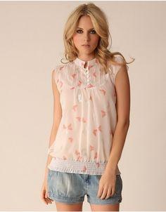Smashing blouse..
