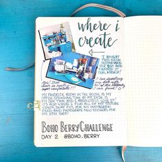 #BohoBerryChallenge Day 2: Where I create - Yup, still obsessed with my @hp Sprocket photo printer 🤣 I'll absolutely have a review/how-to up on YouTube for y'all very soon. - I love the combination of photos with my journaling... I feel like it adds so much depth to what is being said ☺️ - #bohoberrytribe #whereicreate #mydesk #homeoffice #creativejournaling #journalingchallenge #leuchtturm1917 #hpsprocket Hp Sprocket Photo Printer, Photo Craft, Travelers Notebook, Second Hand, Photo Book, Sprog, Stationery, Challenges, Bullet Journal